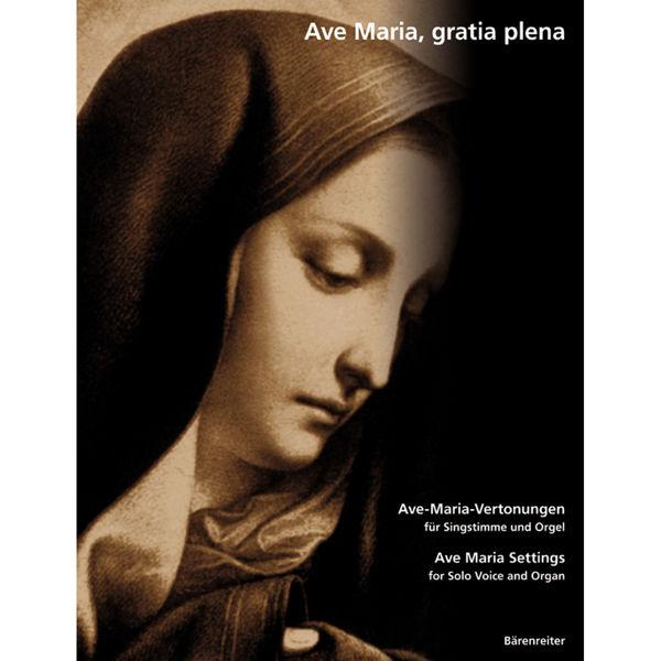 Ave Maria, gratia plena - Voice and Organ