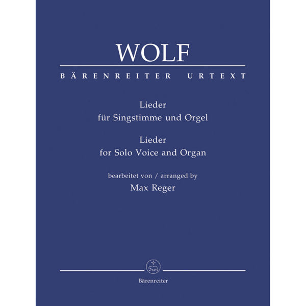 Wolf - Lieder - Solo Voice and Piano