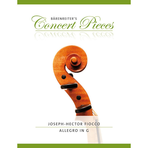 Allegro G-dur, Fiocco Joseph Hector, Violin solo/Piano