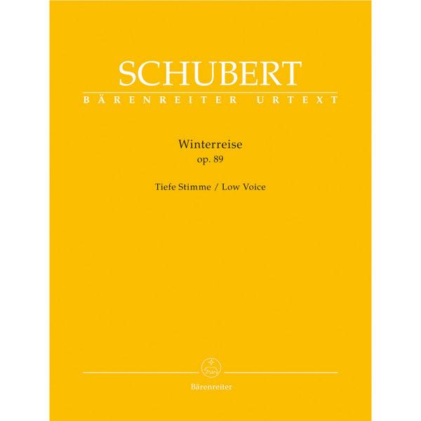 Schubert - Lieder Heft 2 - Winterreise Op.89 - Low Voice