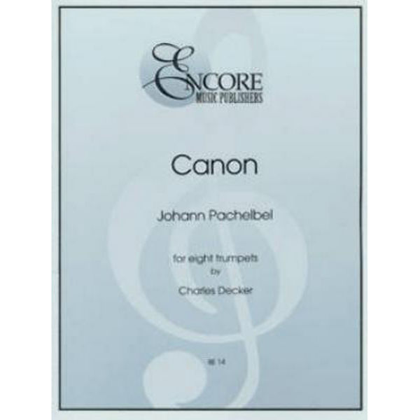 Canon - Pachelbel - For Eight Trumpets
