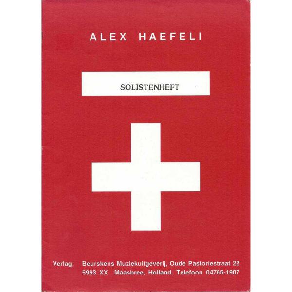Solistenheft, Alex Haefeli