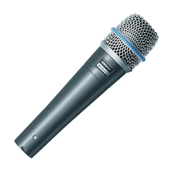 Mikrofon Shure BETA57A, Instrument/snare drum