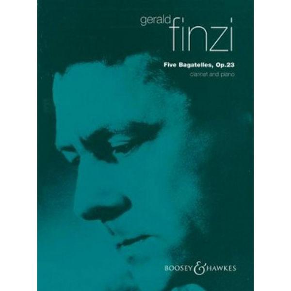 Five Bagatelles Op. 23, Finzi, Clarinet/Piano