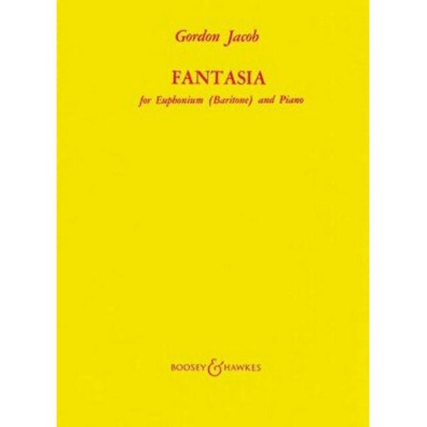 Fantasia for Euphonium and Piano, Gordon Jakob