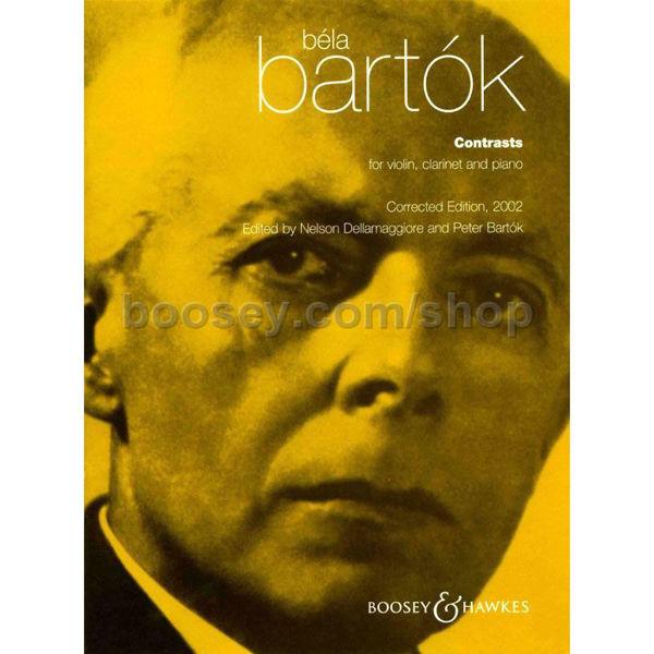 Contrasts - Bela Bartok. Violin, Clarinet and Piano