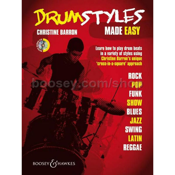 Drum Styles, Made Easy, Christine Barron