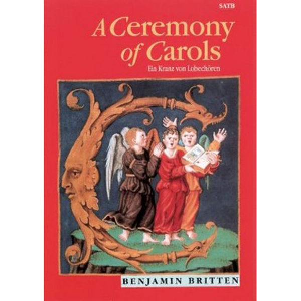 Ceremony of Carols op 28, Benjamin Britten - SATB and Harp - Vocal/Piano Score