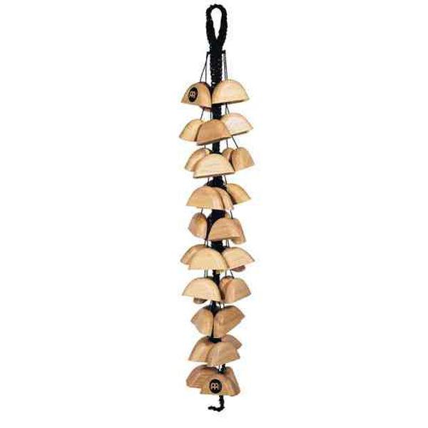 Shellchimes Meinl BI1NT, Bird Chimes, Lenke med Wood Shells
