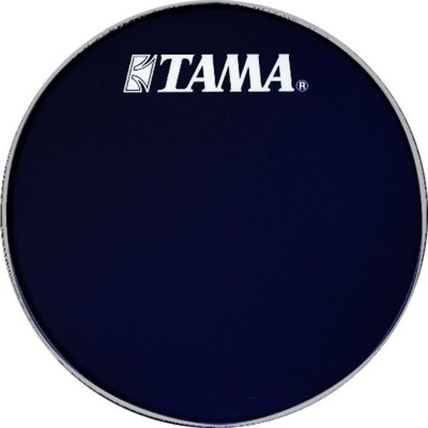Stortrommeskinn Tama, BK22BMWS, Black m/Tama Logo 22