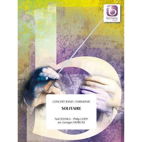 Solitaire, Sedaka / Moreau - Concert Band