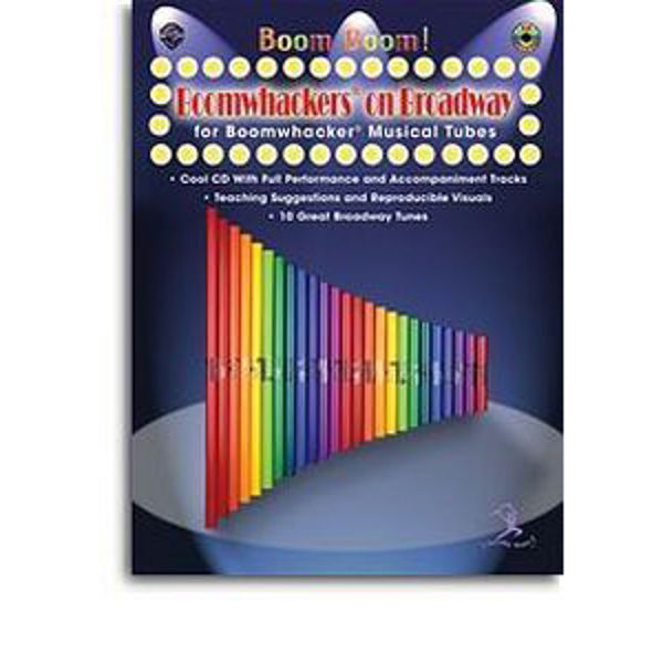 Boomwhackers On Broadway Book/CD