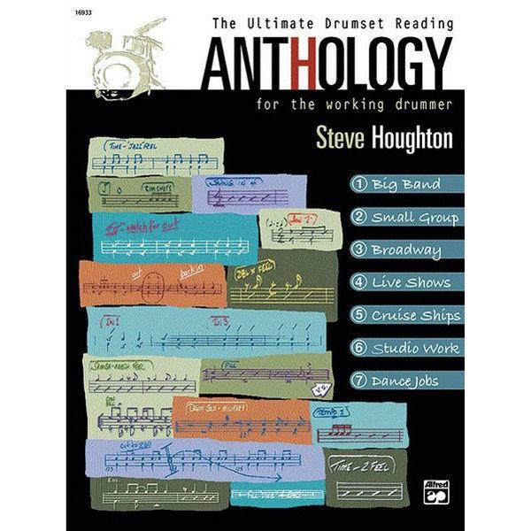 Ultimate Drumset Reading Anthology, Steve Houghton