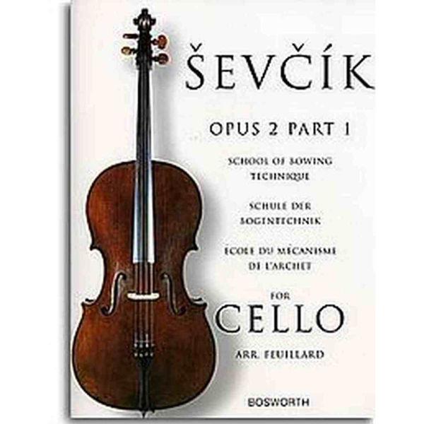 Sevcik Cello Studies opus 2 part 1 Bowing Technique