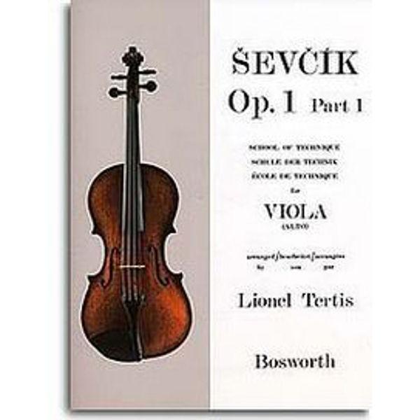 Sevcik Viola Studies opus 1 part 1 Technique