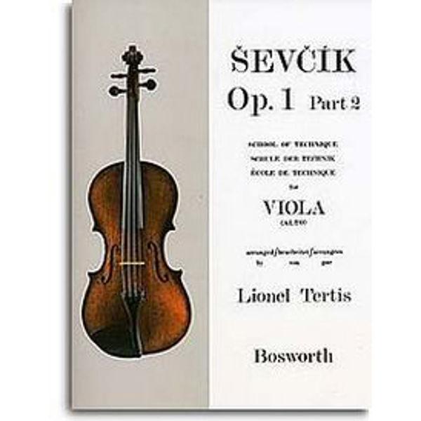 Sevcik Viola Studies opus 1 part 2 Technique