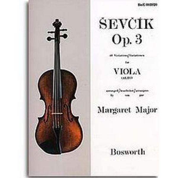 Sevcik Viola Studies opus 3 40 Variations