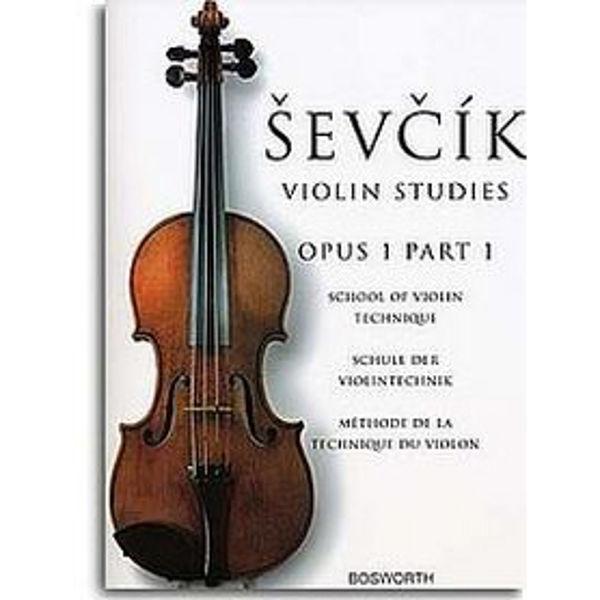 Sevcik Violin Studies opus 1 part 1 Technique