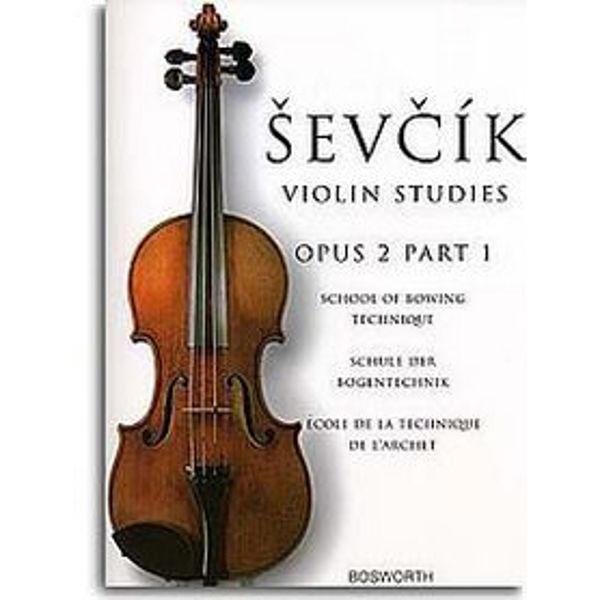 Sevcik Violin Studies opus 2 part 1 Bowing Technique