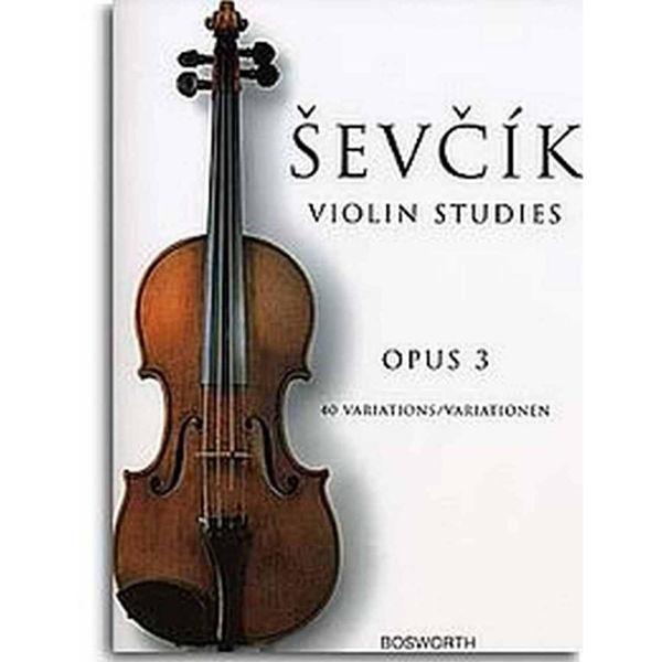 Sevcik Violin Studies opus 3 40 Variations