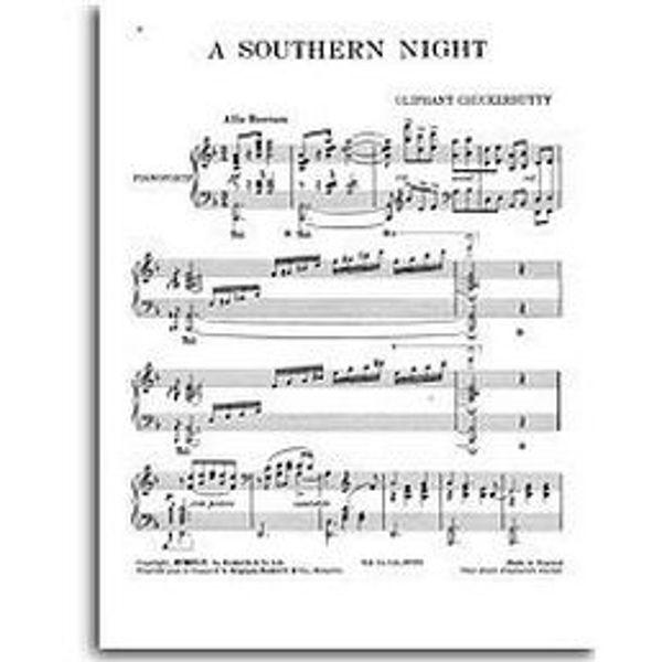 A Southern Night, Oliphant Chuckerbutty - Piano