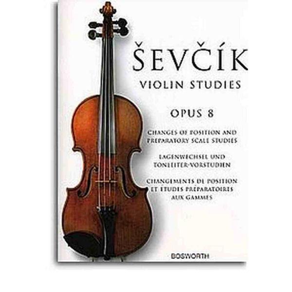Sevcik Violin Studies opus 8 Preparatory scale studies