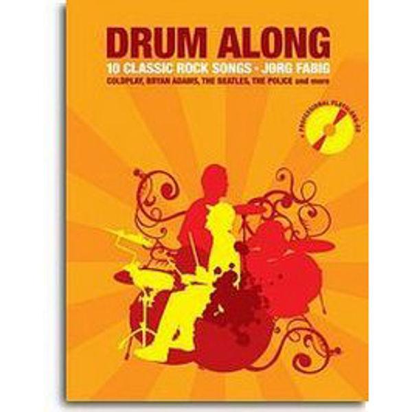 Drum Along Playalong, 10 Classic Rock Songs