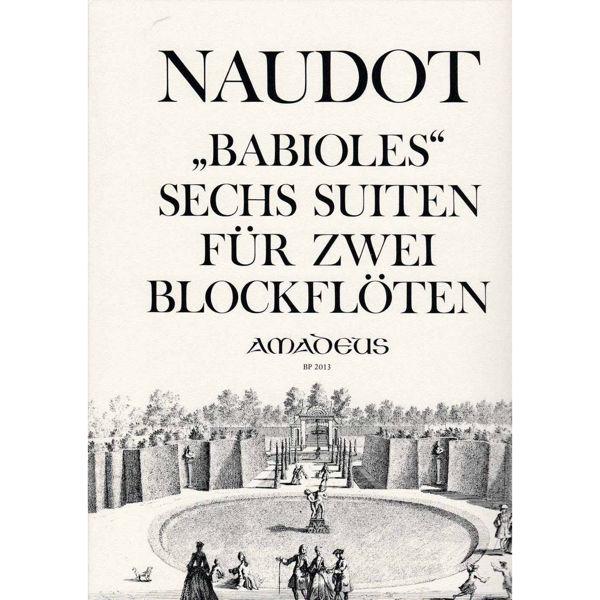 Babioles 6 Suites for 2 Blokkfløyter