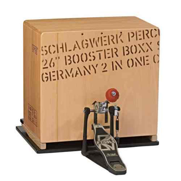 Cajon Base Plate Schlagwerk BP40, Incl. Special-Beater for Booster Box