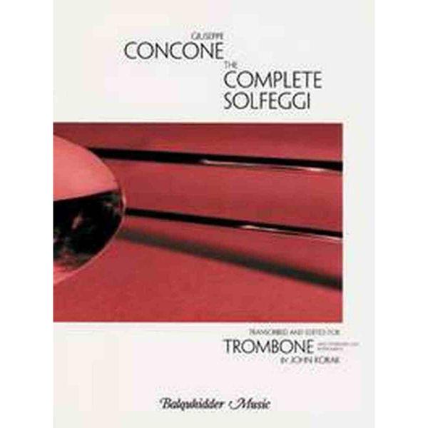 The Complete Solfeggi for Trombone (C) Concone