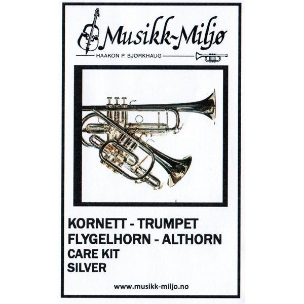 Rengjøringssett Kornett-Trompet-Flygelhorn-Althorn Superslick Care Kit