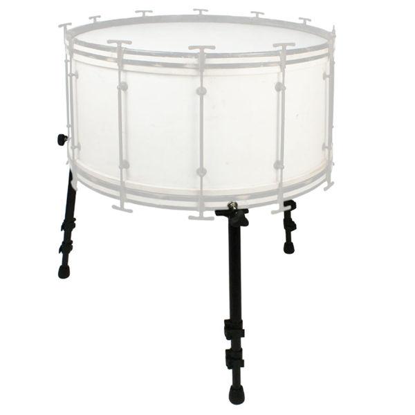 Stortrommeføtter Black Swamp MLEG3, Set of 3 Multi-Fit Bass Drum Legs, Black