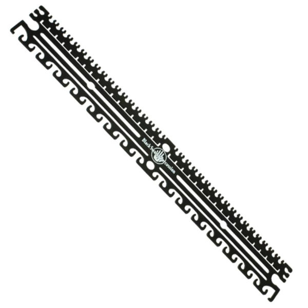 Multiplate Black Swamp RecPlate, Rectangular Shaped