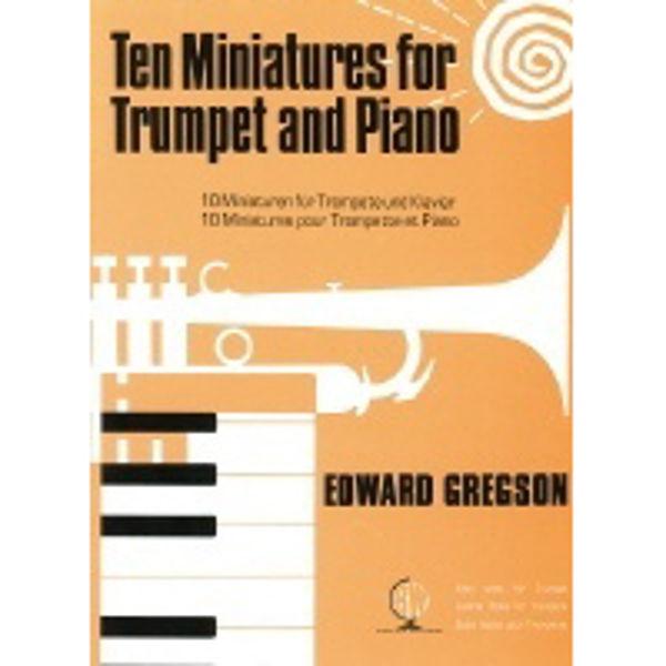Ten Miniatures  for Trumpet, Trumpet/Piano