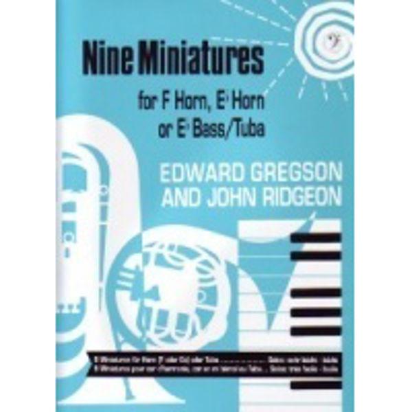 NineMiniatures BC, Tuba/Piano
