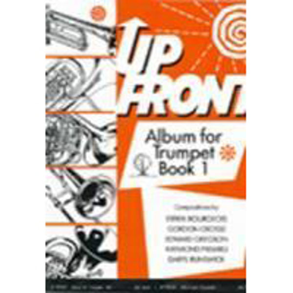 Up Front Album for Trumpet Book 1, Trumpet/Piano