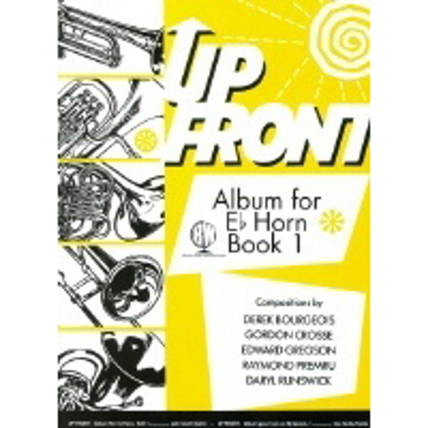 Up Front Album Eb Horn Book 1, Eb Horn/Piano