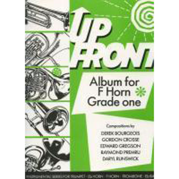 Up Front Album Book1, F Horn/Piano