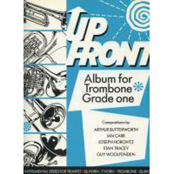 Up Front Album Trombone Book 1 TC, Trombone/Piano