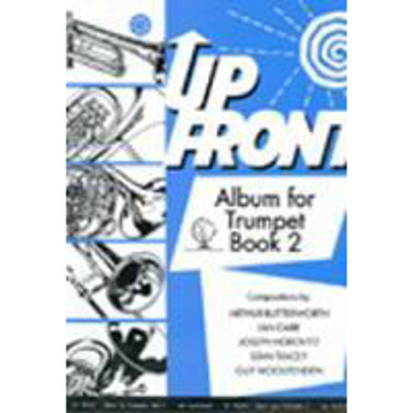 Up Front Album for Trumpet Book 2, Trumpet/Piano