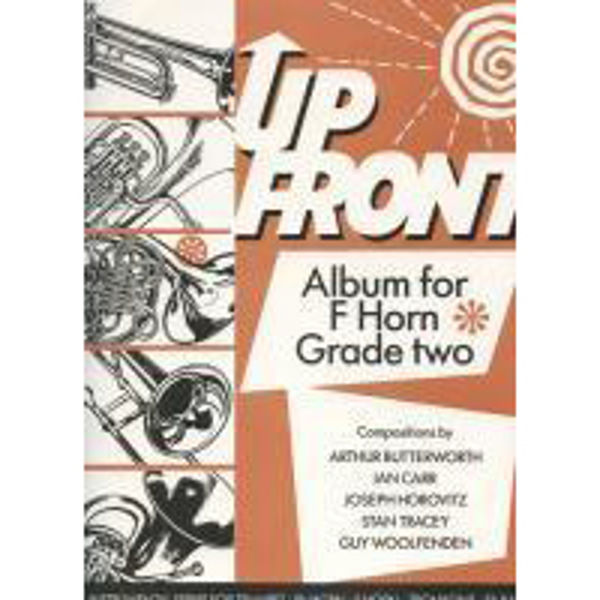 Up Front Album Book 2, F Horn/Piano
