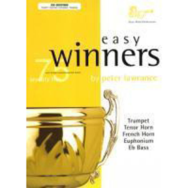 Easy Winners, 75 well known unaccompanied tunes. Trumpet/Euphonium and CD