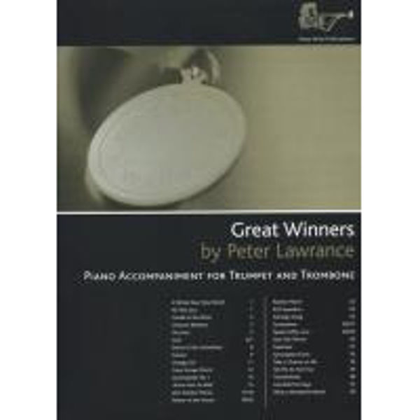 Great Winners Trumpet/Trombone/Euphonium PA, Pianoakkompagnement