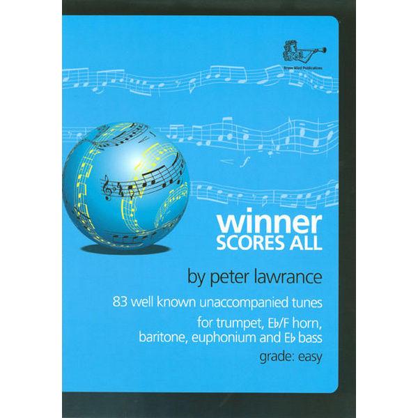 Winner Scores All for Treble Brass, TC/CD. Peter Lawrance