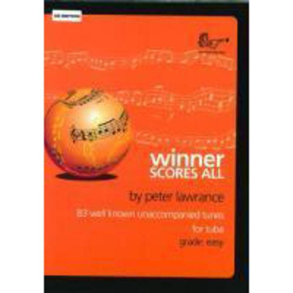 Winner Scores All Tuba, med CD