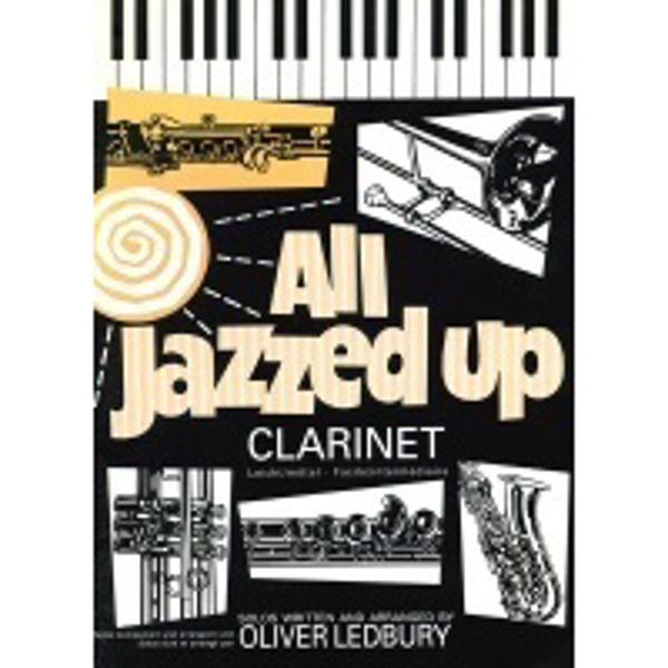 All Jazzed Up for Clarinet, Clarinet/Piano