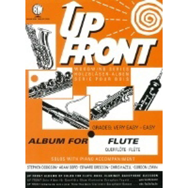 Up Front Album for Flute, Flute/Piano