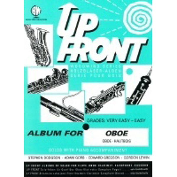 Up Front Album for Oboe, Oboe/Piano