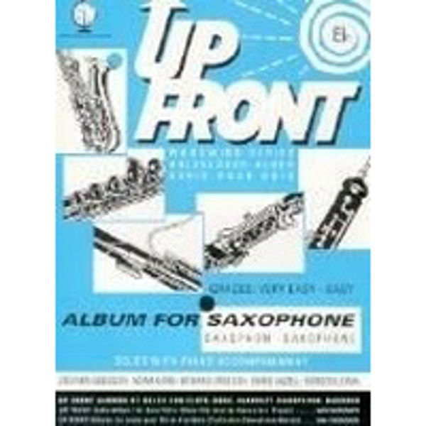 Up Front Album for Altsaksofon, Saksofon/Piano