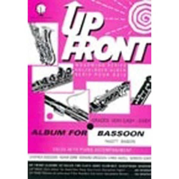 Up Front Album for Basson, Bassoon/Piano